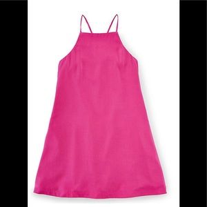 Ralph Lauren 2T Pink Regatta Spaghetti Shift Dress